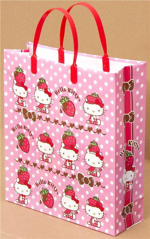 4ad060fd56 Hello Kitty Plastic Handbag