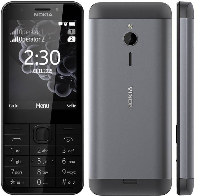 Nokia 230 Black Dual SIM | Mobile Phone prices Dubai | Nokia 230