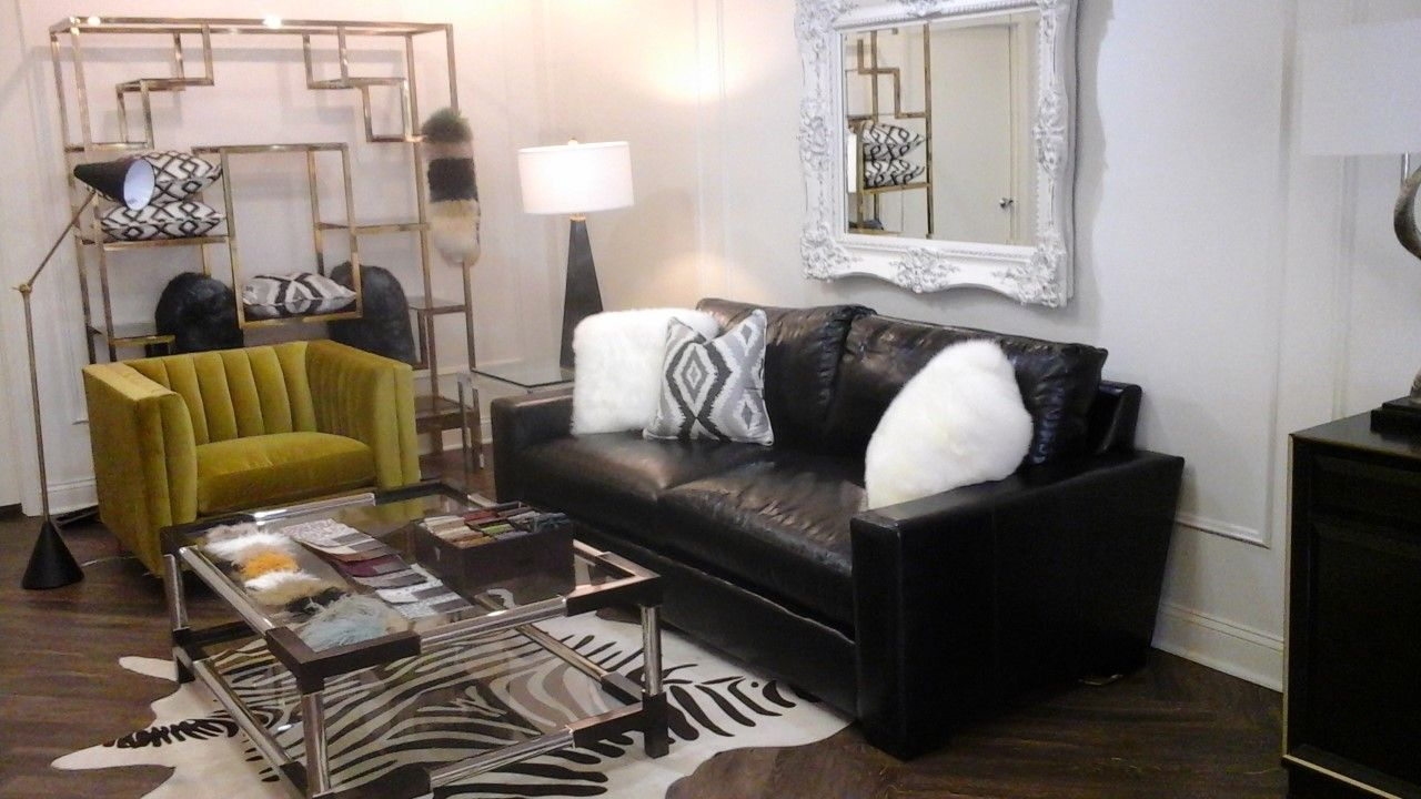More Pics Of Sherry Feeneys Forecast Interiors In Lexington KY Featuring Our COCOCO Monroe Sofa