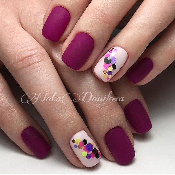 Manikyur Video Uroki Art Simple Nail Nails Pinterest Unas