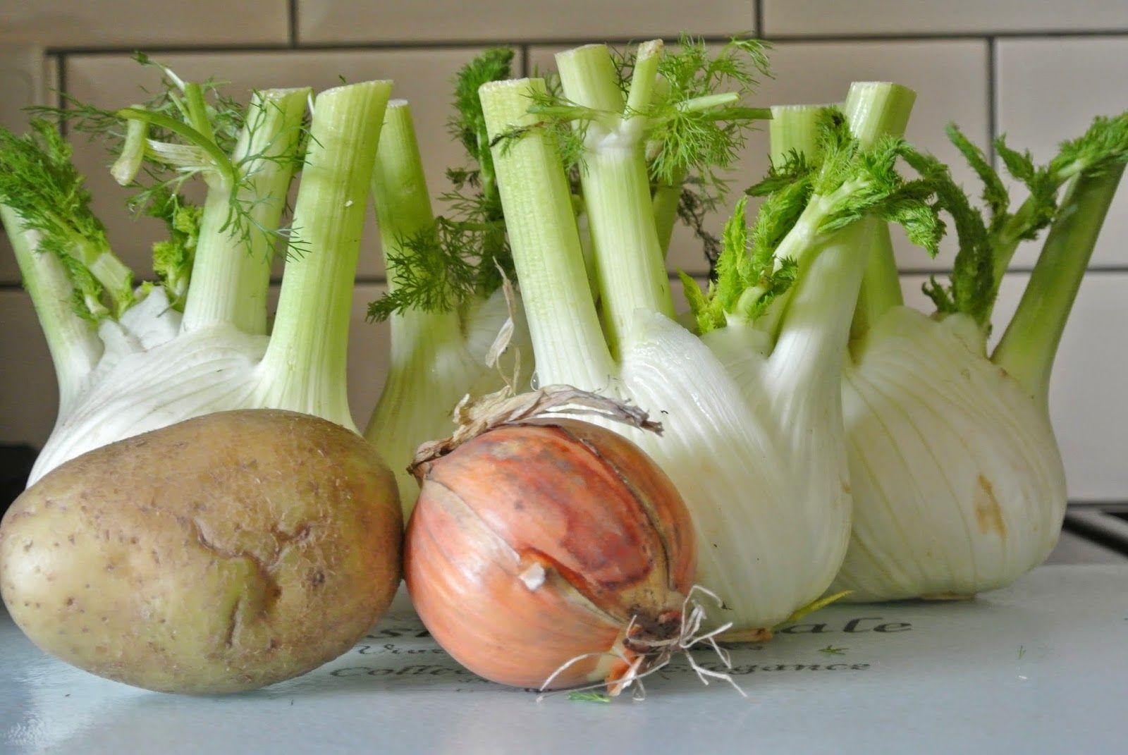 Ik kook al eens graag met minder evidente groenten. Zo was er vorige week venkel te koop in de L*dl voor een spotprijs. Dit kon ik niet laten liggen natuurlijk. Venkel heeft een wat anijsachtige smaak