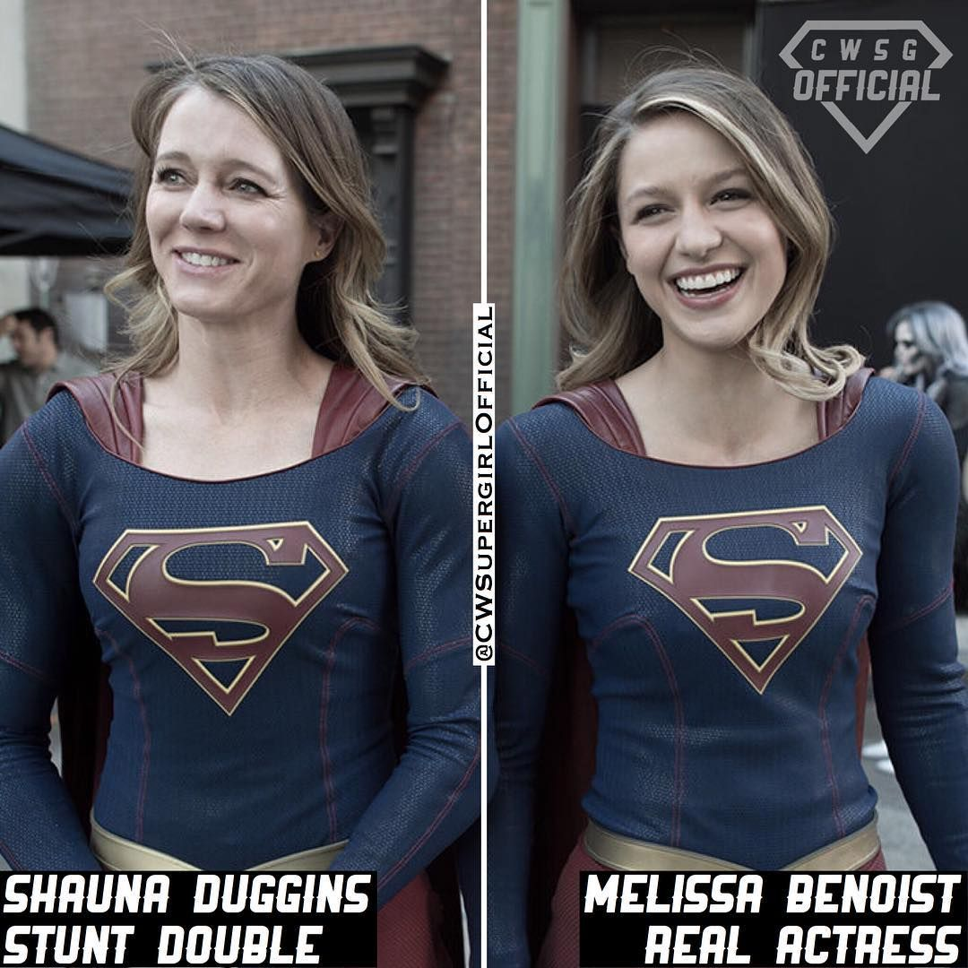 Okay Its Hard Enough To Find A Look Alike But A Stunt Double Too Melissa Lucked Out Follow Cwsgofficial For More Turn On Post Mujercitas Famosos Heroe