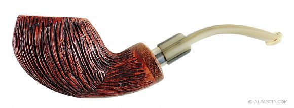Viprati Rusticated 9MM Filter - smoking pipe 023 - www.alpascia.com