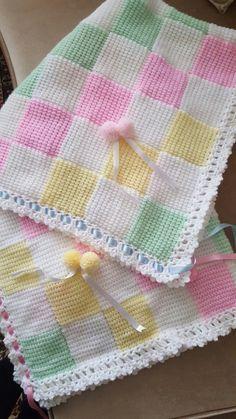 Uncinetto Tunisino Uncinetto Pinterest Baby Blanket Crochet