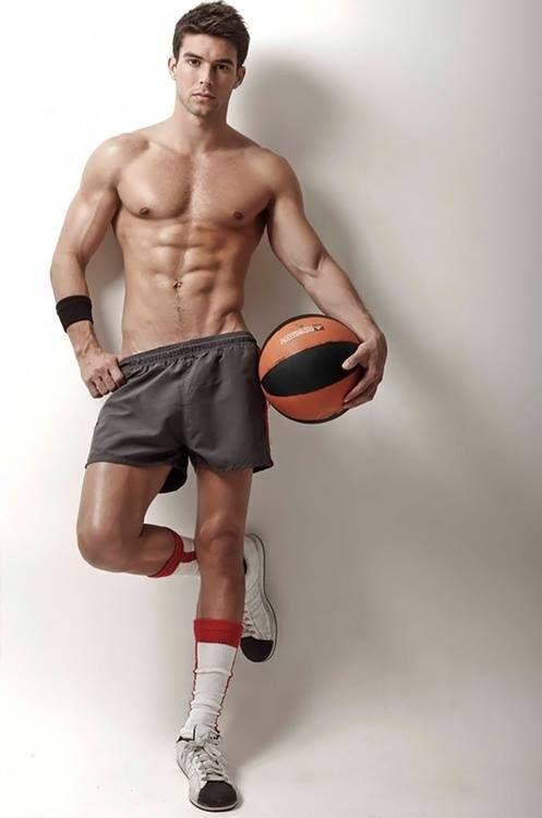 Sexy basketball player