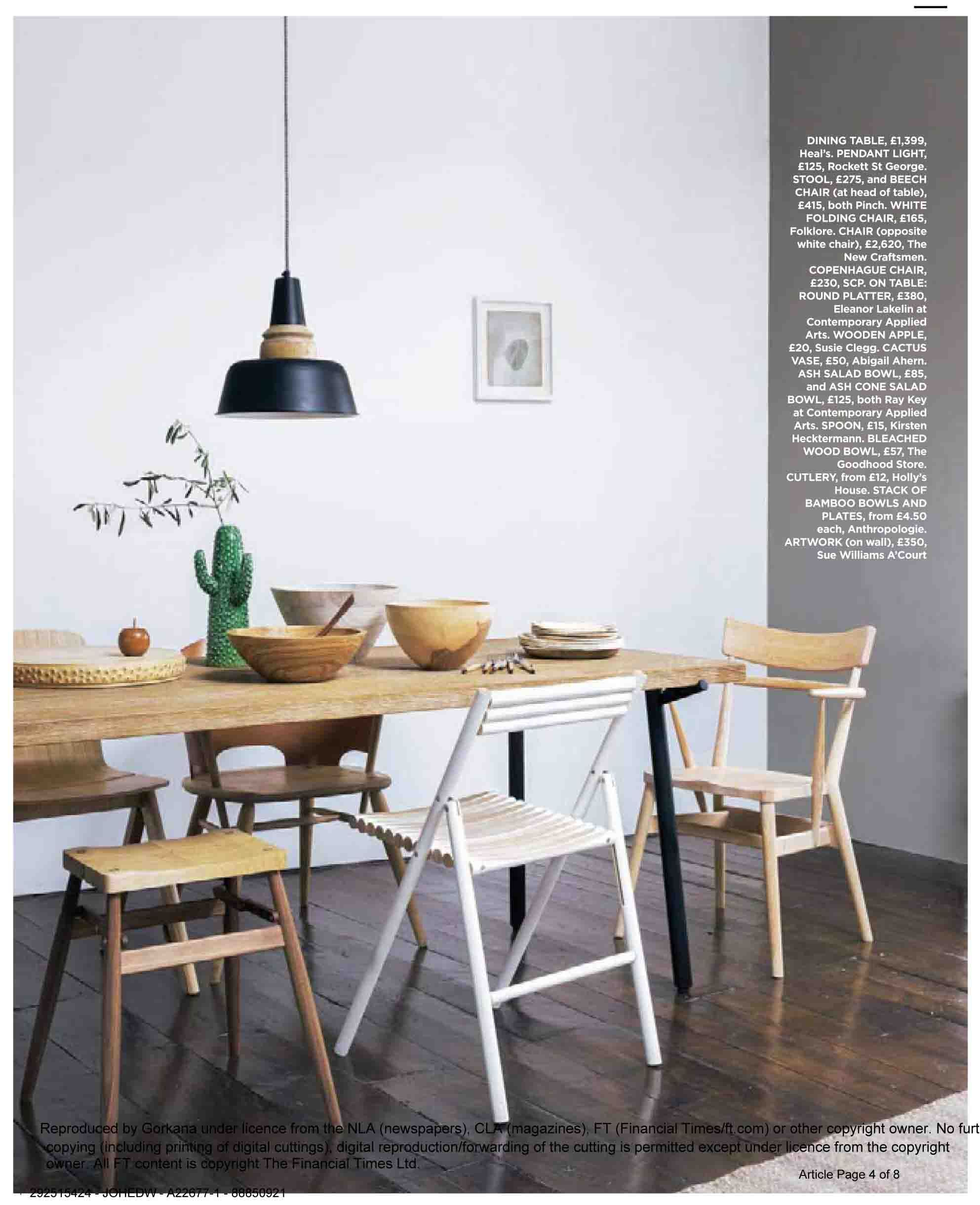 Blu Dot Branch Dining Table Exclusive At Heal S As Featured In