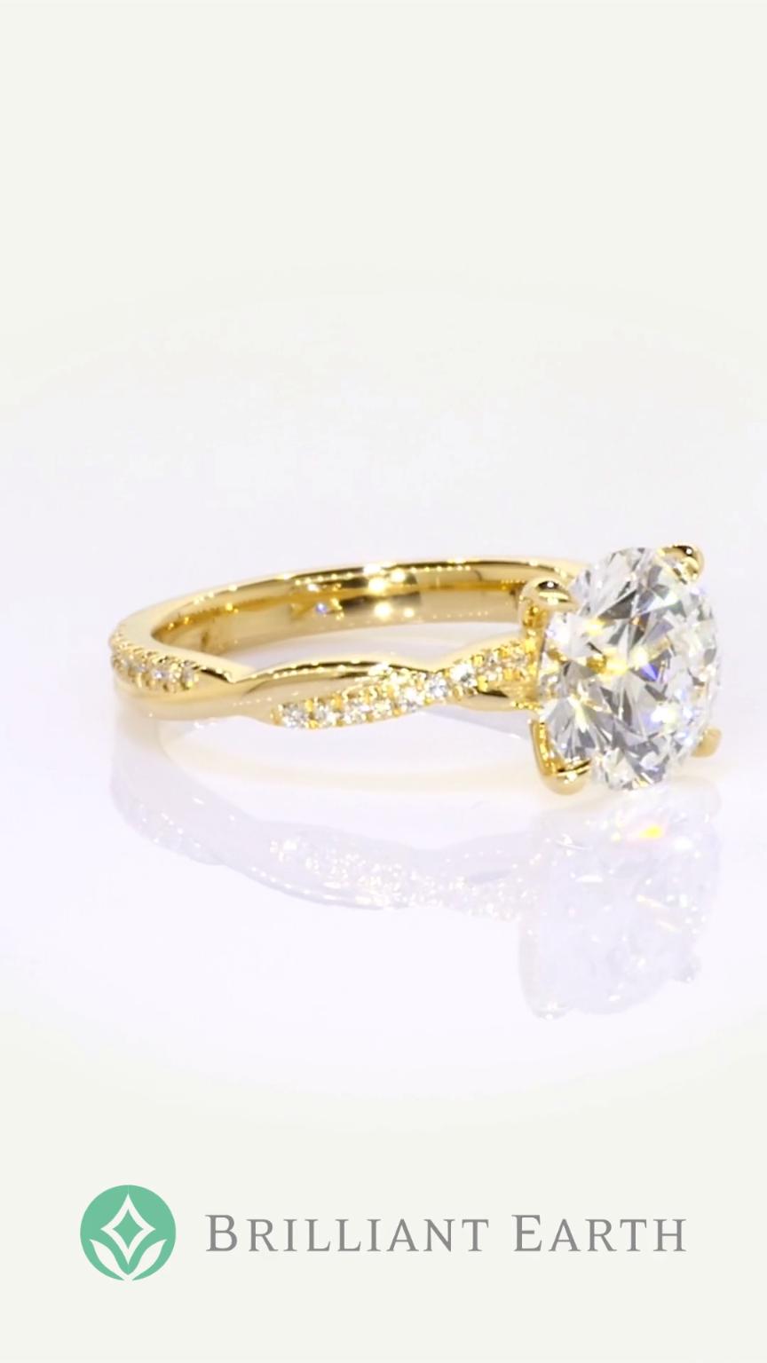 5eefaef4185 Meet the Petite Twisted Vine Diamond Ring