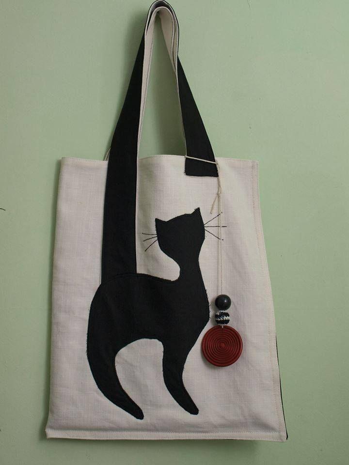 76e094ce2 Cat bag Bolsas De Tricô, Fazer Bolsas, Bolsas Feitas Em Casa, Bolsas Luxo