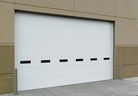 Commercial Polyurethane Insulated Steel Garage Door Model 3722 Commercial Steel Door Steel Garage Doors Commercial Overhead Door