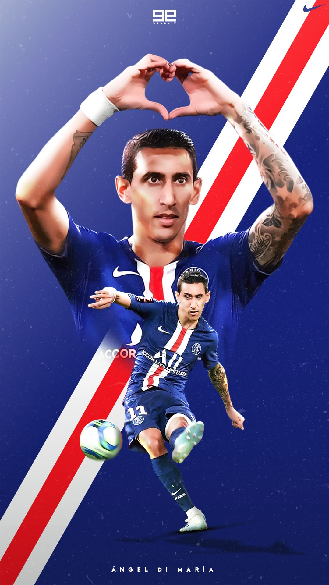 Epingle Sur My Work Angel di maria wallpapers