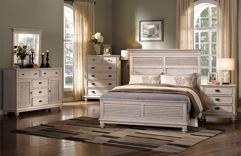 Lakeport 00 220 Driftwood Bedroom Set Bedroom Furniture Sets