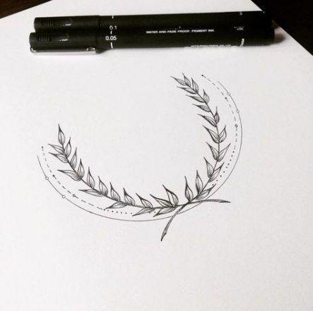 Photo of 48+ trendige Ideen Blumen Krone Zeichnung Tattoo Ideen