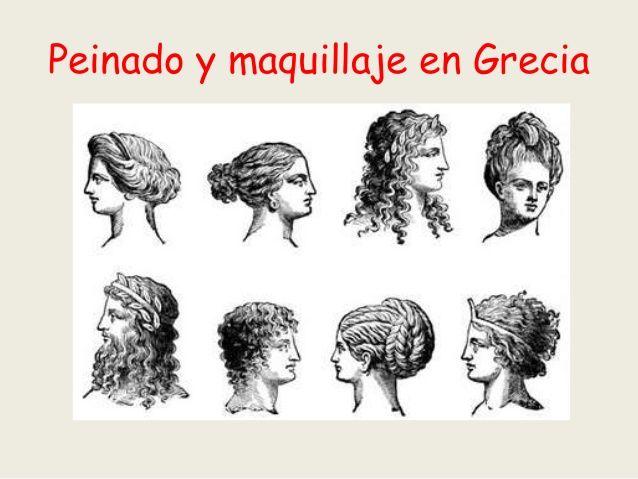 Cómo conseguir un peinados antigua grecia Colección de ideas de color de pelo - peinado joven romana - Buscar con Google   Pelo griego ...