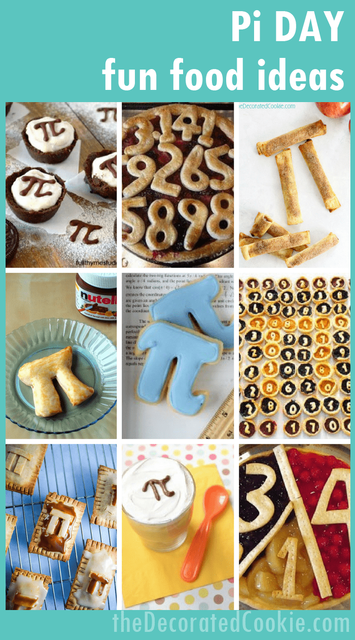 Fun Food Ideas For Pi Day Celebrating May 14th With Fun Food Pi Day Food Party Food Themes