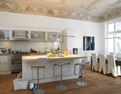 Schöner kochen - Die offene Wohnküche planen - offene k che planen