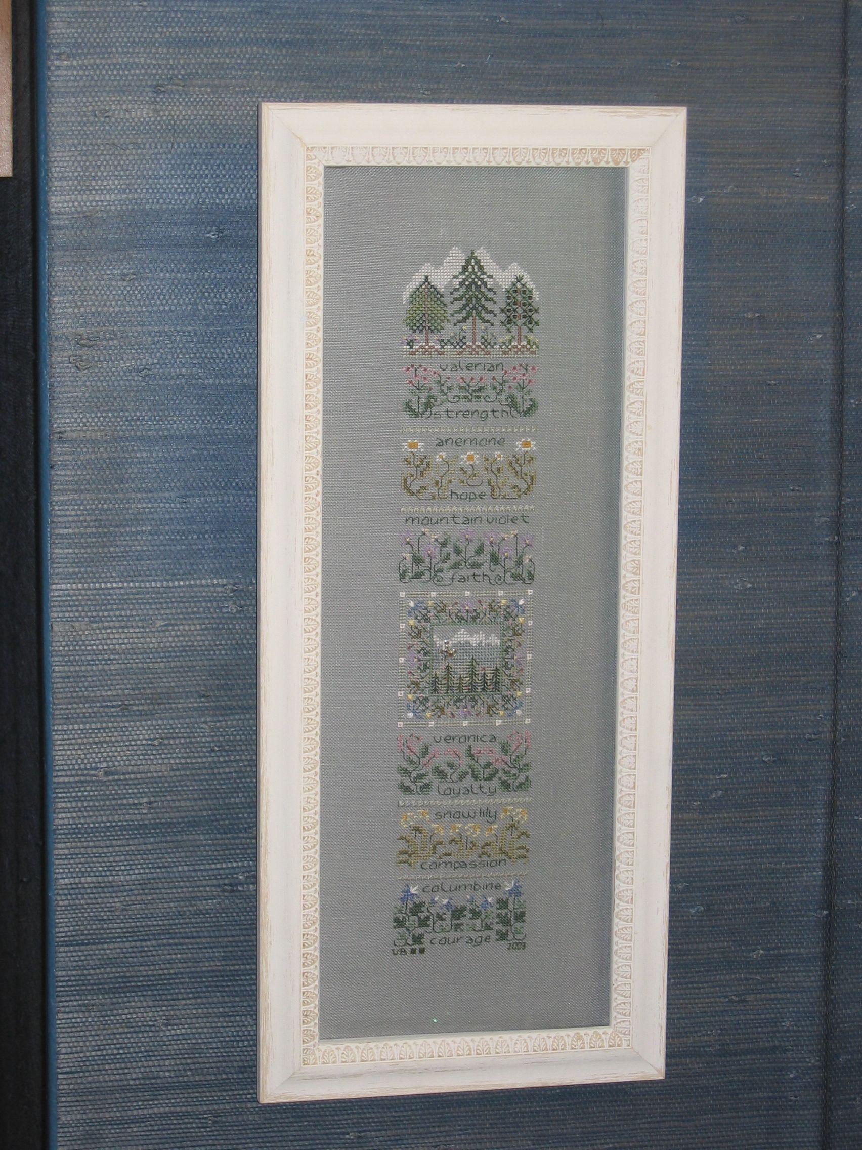 Alpine Garden - Drawn Thread