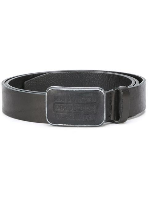 DSQUARED2 classic logo buckle belt.  dsquared2  belt 19b03c058c9a