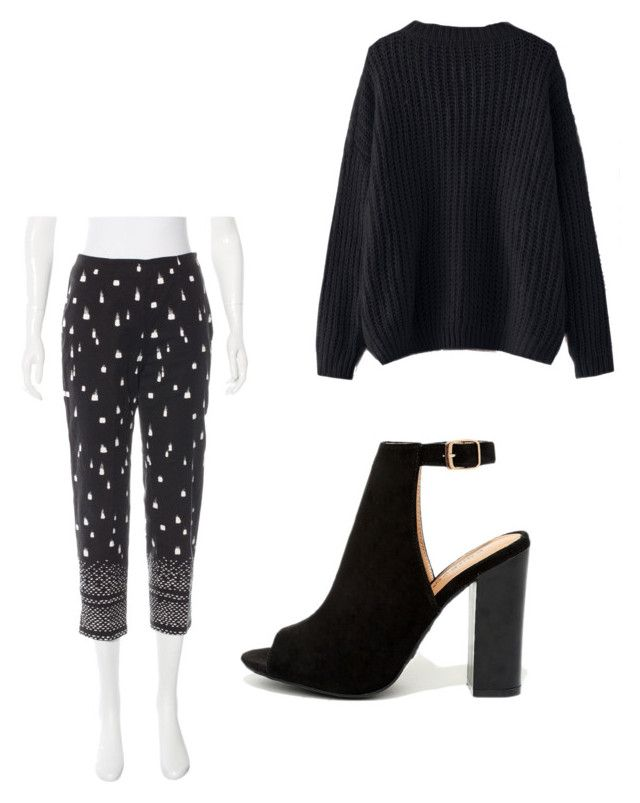 """""""Work"""" by kduffy-1 on Polyvore featuring Piazza Sempione, Bamboo and WithChic"""