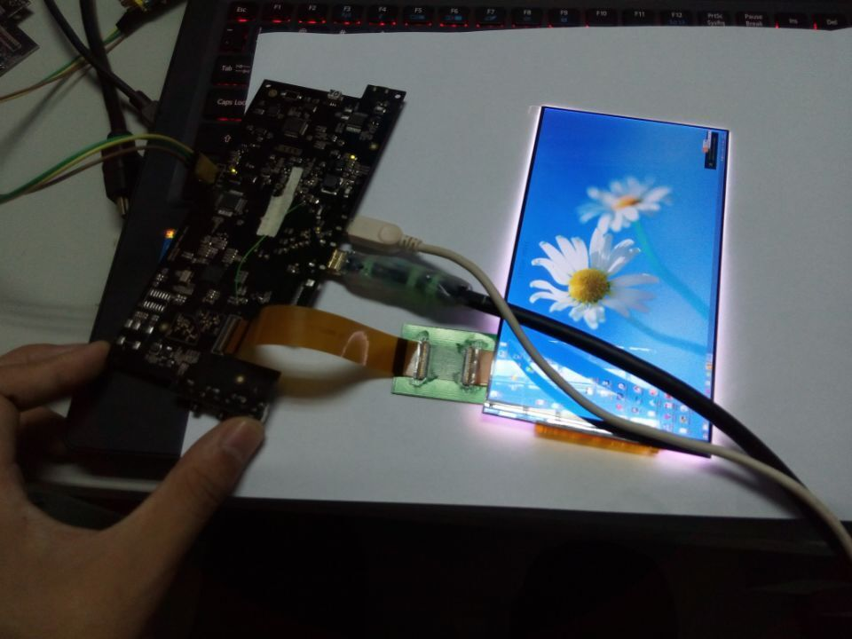 6 Inch 1440p Lcd Display 2560x1440 Lcd Mipi/ 2k Lcd Display With