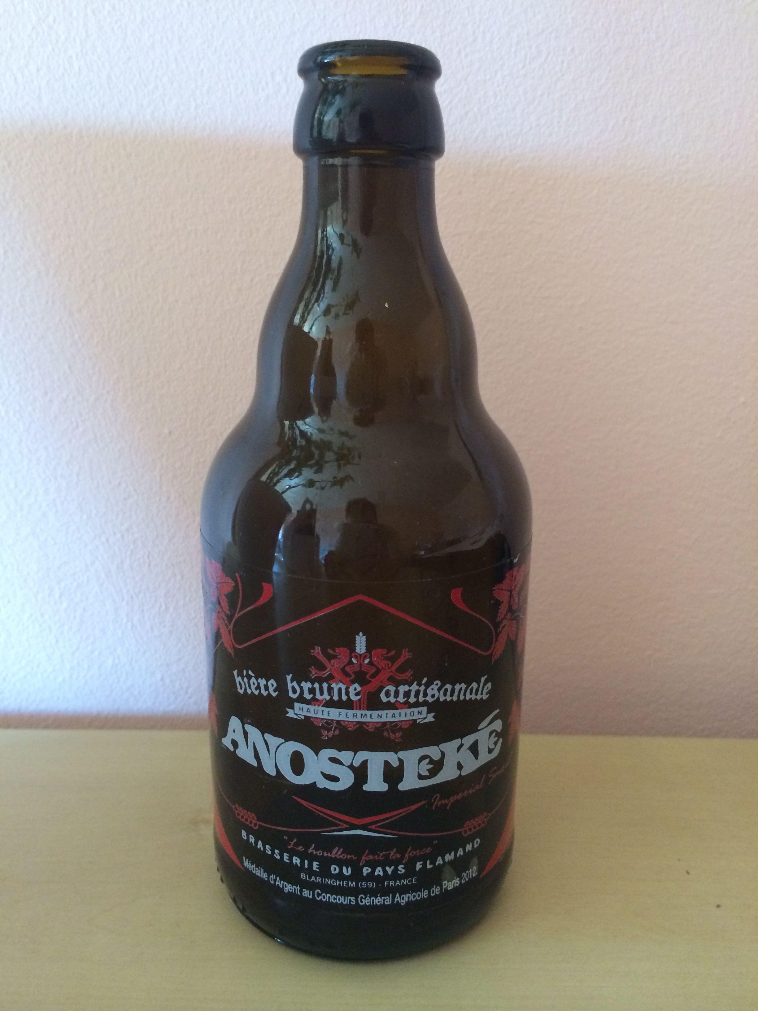 Anosteké Bière Brune Artisanale