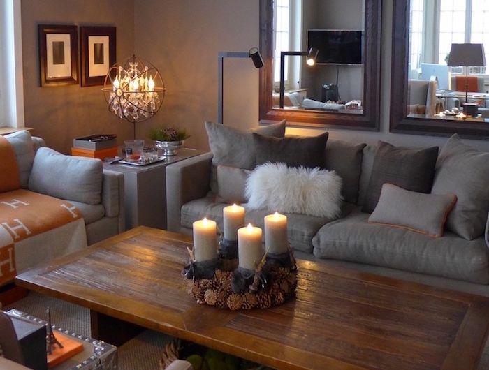 ▷ 1001+ idées | Future Home:) | Salon taupe, Salon et ...