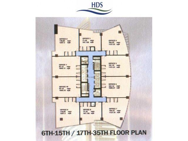 HDS Tower Floor Plans - JLT | Apartment For Sale | Pinterest | Tower