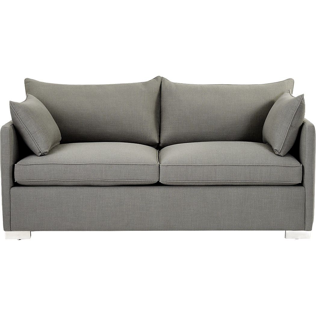 Etonnant Modern Design By Mermelada Estudio Pulls Double Duty As Plush Sofa And  Queen Size Sleeper In Casual Chic Grey Woven Fabric.