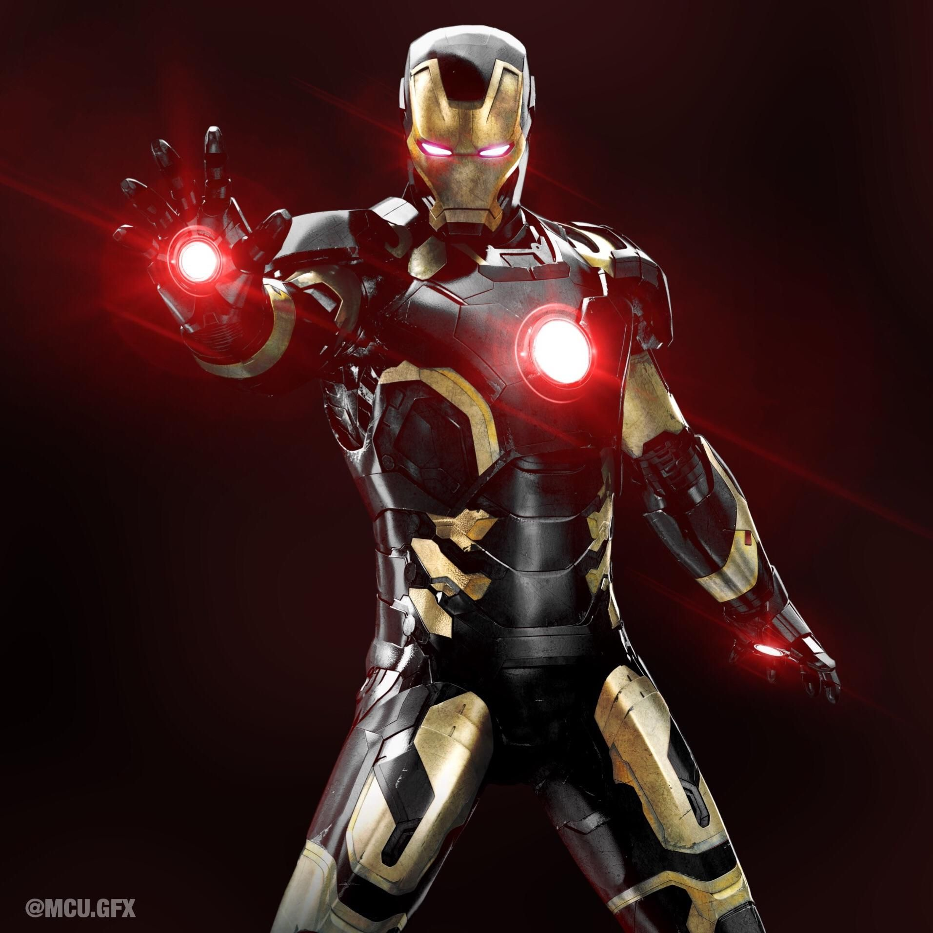 We Really Needed A Black And Gold Iron Man Suit Iron Man Suit Iron Man Iron Man Noir