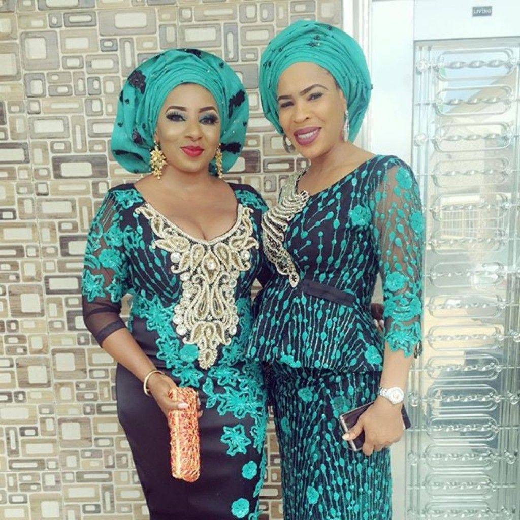 Wedding off! Mide Martins and Fathia Williams Look Vibrant in ...