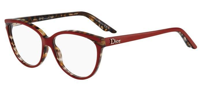 d430e083165c7 Lunettes de vue - Pas cher - Dior CD3243 Rouge MBM | Trendy ...