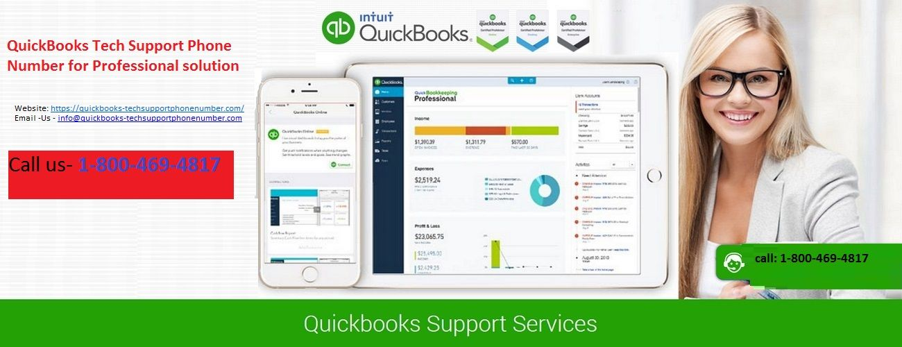 QuickBooks Tech Support Phone Number To Resolve QuickBooks