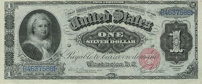 U S One Dollar Bill Very Rare Old Us Bills 22 Pics