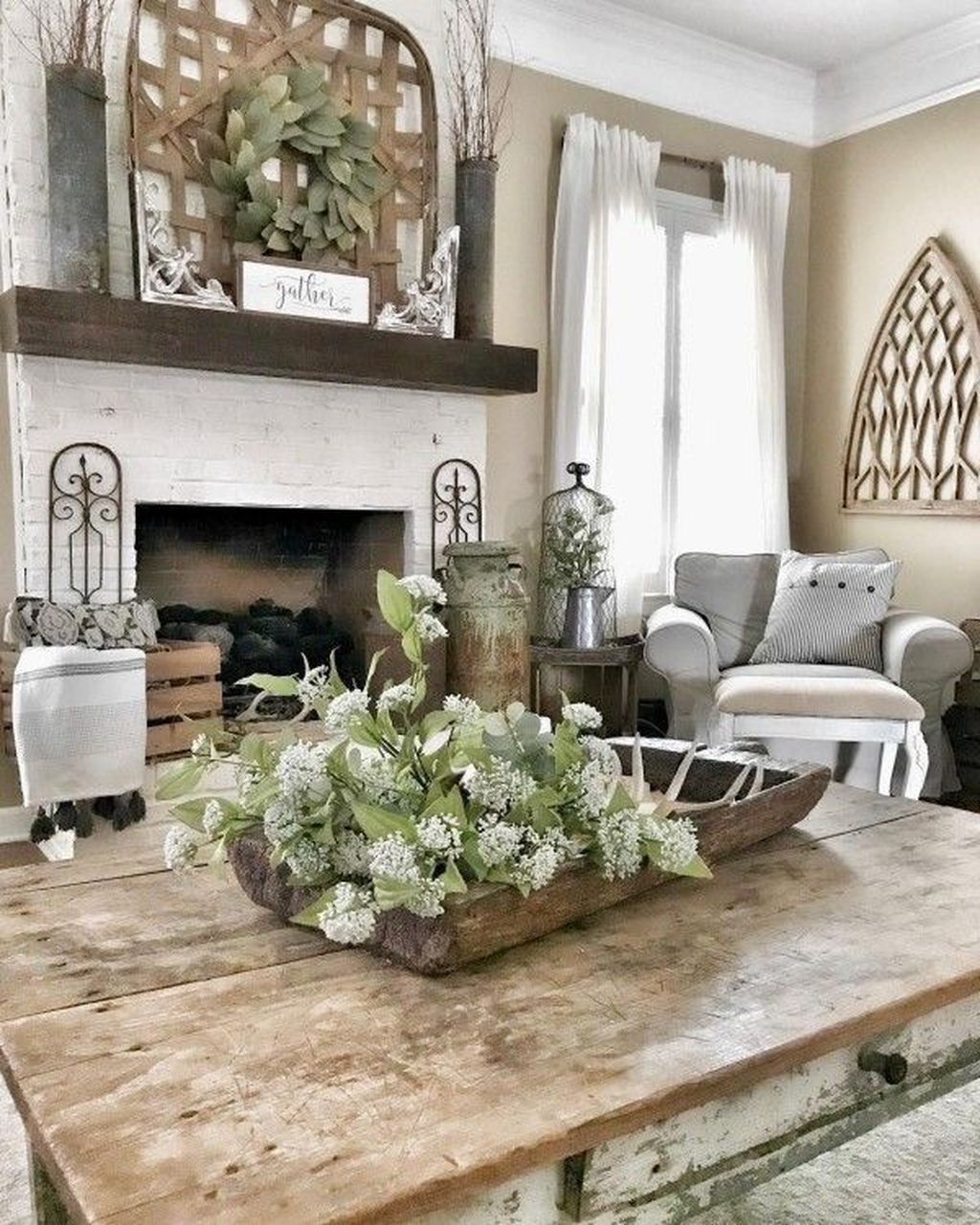 44 awesome modern rustic living room decor ideas