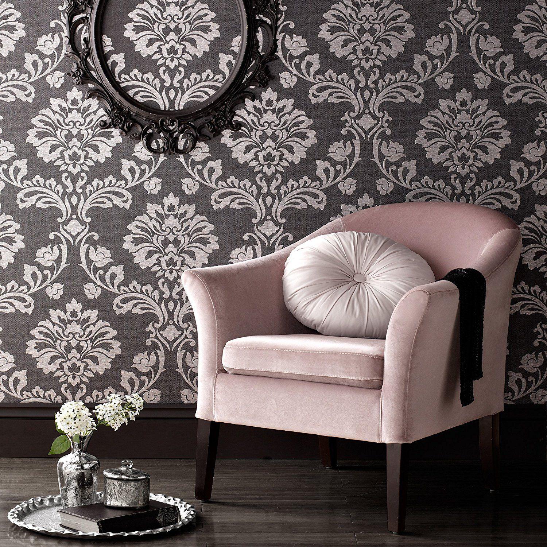 Graham & Brown 20 708 Aurora Wallpaper Black Grey AmazonSmile