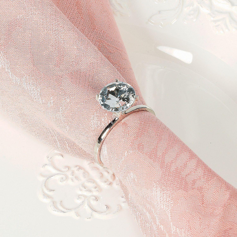 Diamond Ring Napkin Rings   Napkin rings, Napkins and Diamond