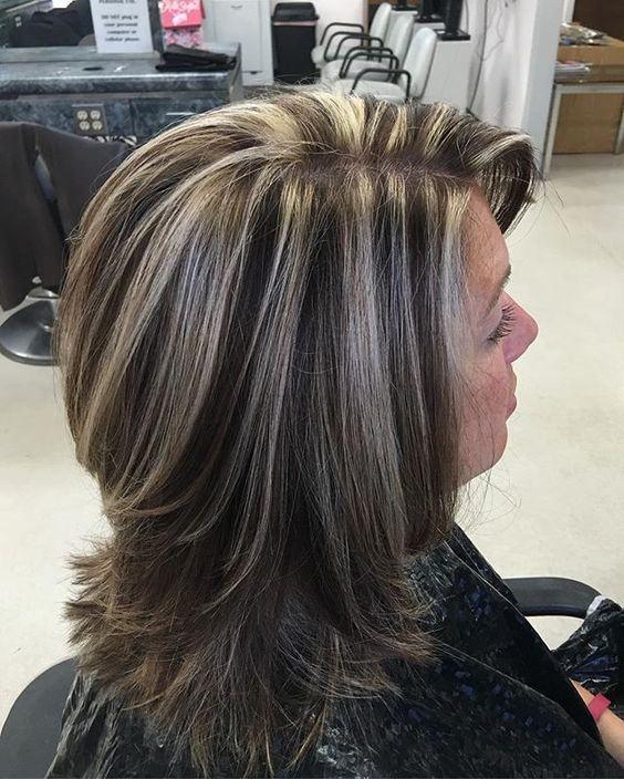 pin hair cuts medium layers