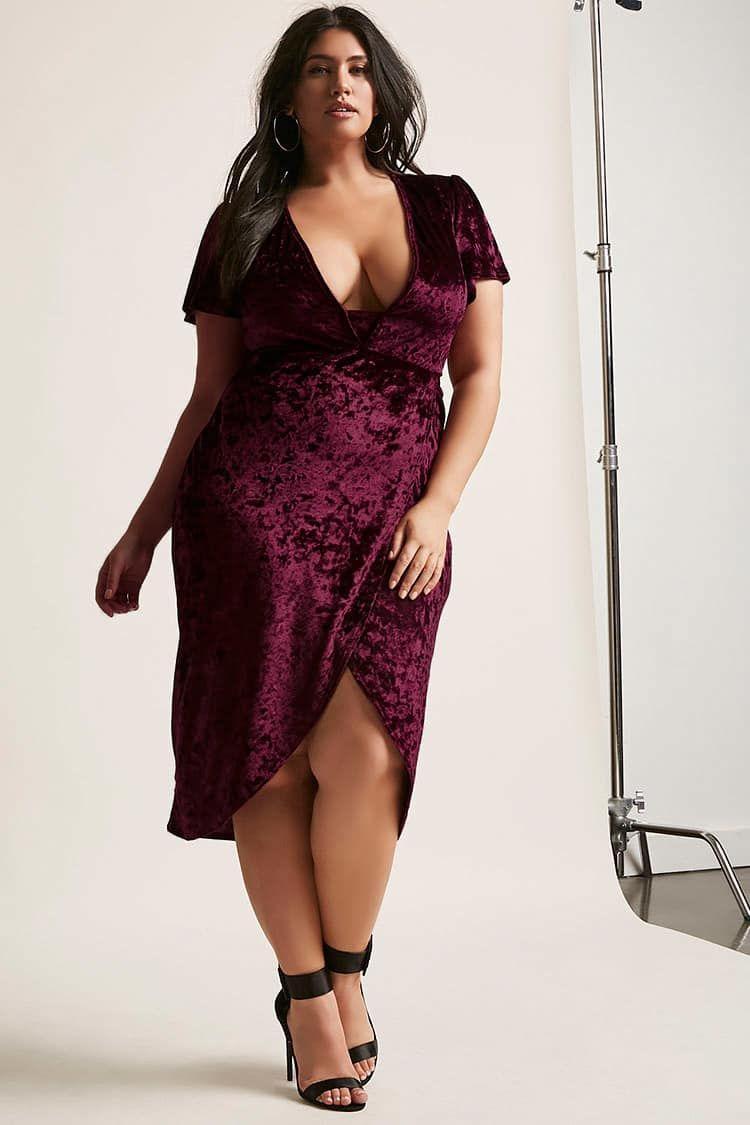 8c95ec0b7b5 Product Name Plus Size Crushed Velvet Tulip Dress