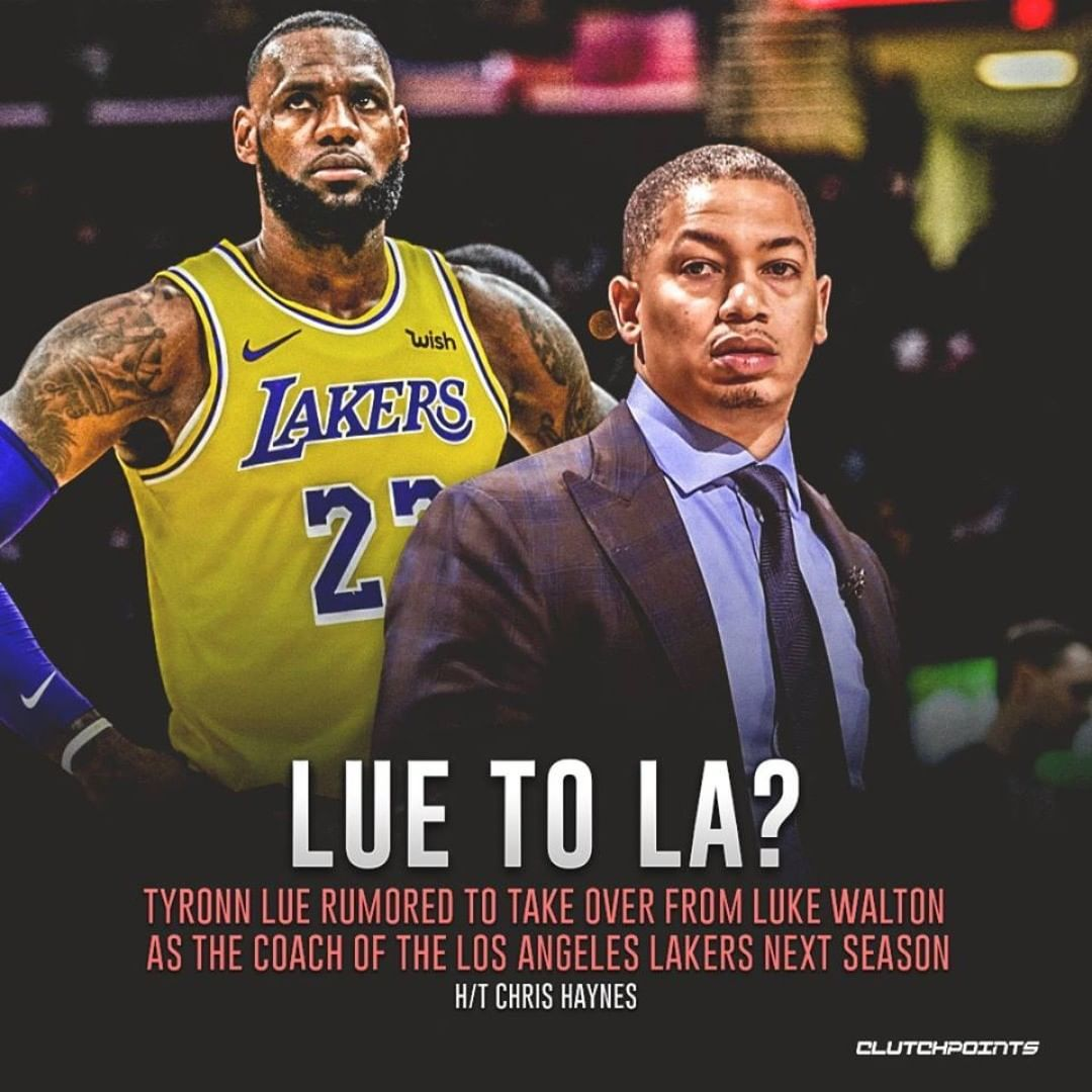 Clutchpoints On Instagram The Dream For A Meme Team Is Still Alive La Lakeshow Memes Teams Tyronn Lue