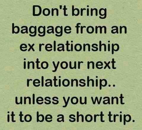Relationship baggage quotes