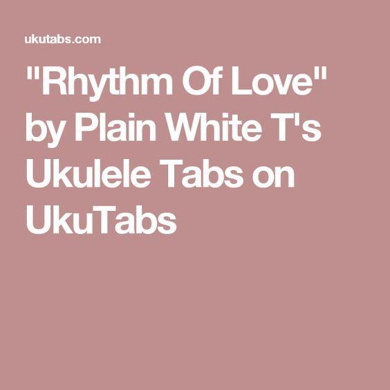 Rhythm Of Love\