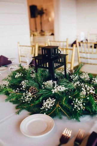 Wonderfully Elegant, Woodsy Wedding in Purple and Green {Ctg Photography}
