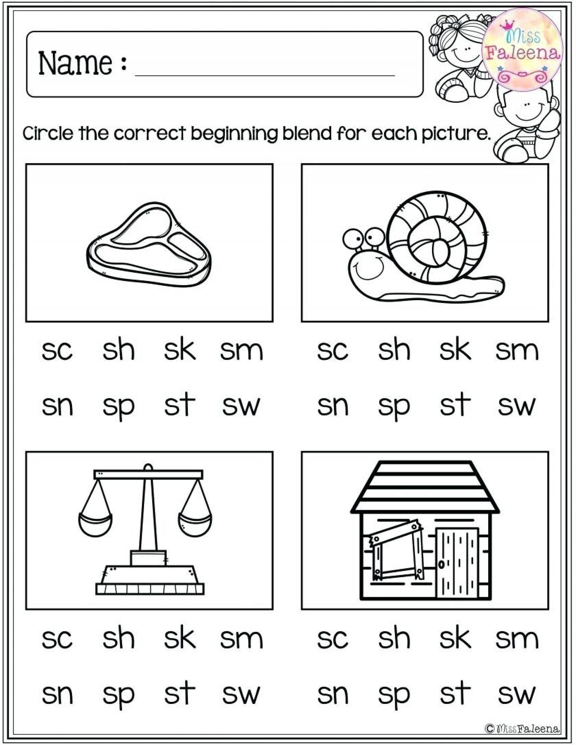 3 Worksheet Free Preschool Kindergarten Worksheets Consonants Beginning Consonants 022 Kinder Blends Worksheets Blends Activities Phonics Kindergarten [ 2484 x 1920 Pixel ]