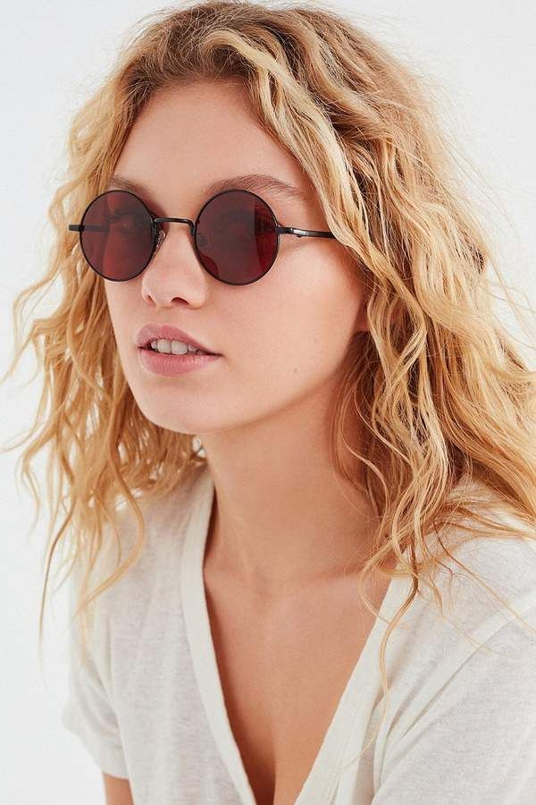 c09fc21d29f Urban Outfitters London Round Sunglasses