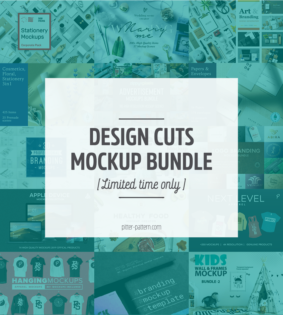 Awesome mockup collection! [Limited time only]   Pitter Pattern #surfacepatterndesign