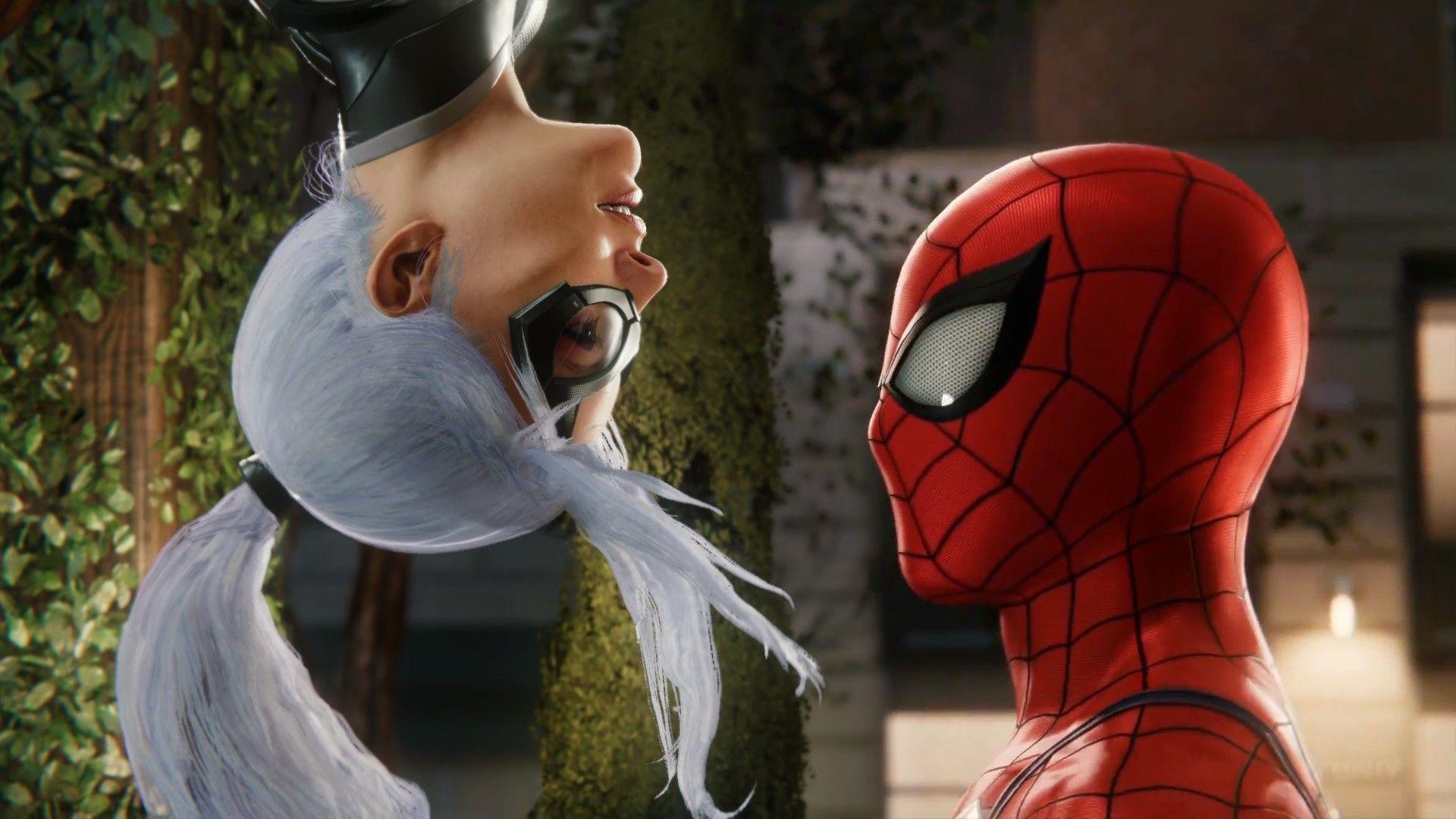 Re Ignite The Flame Black Cat In Marvel S Spider Man The Heist For Ps4 Spiderman Black Cat Black Cat Marvel Spiderman