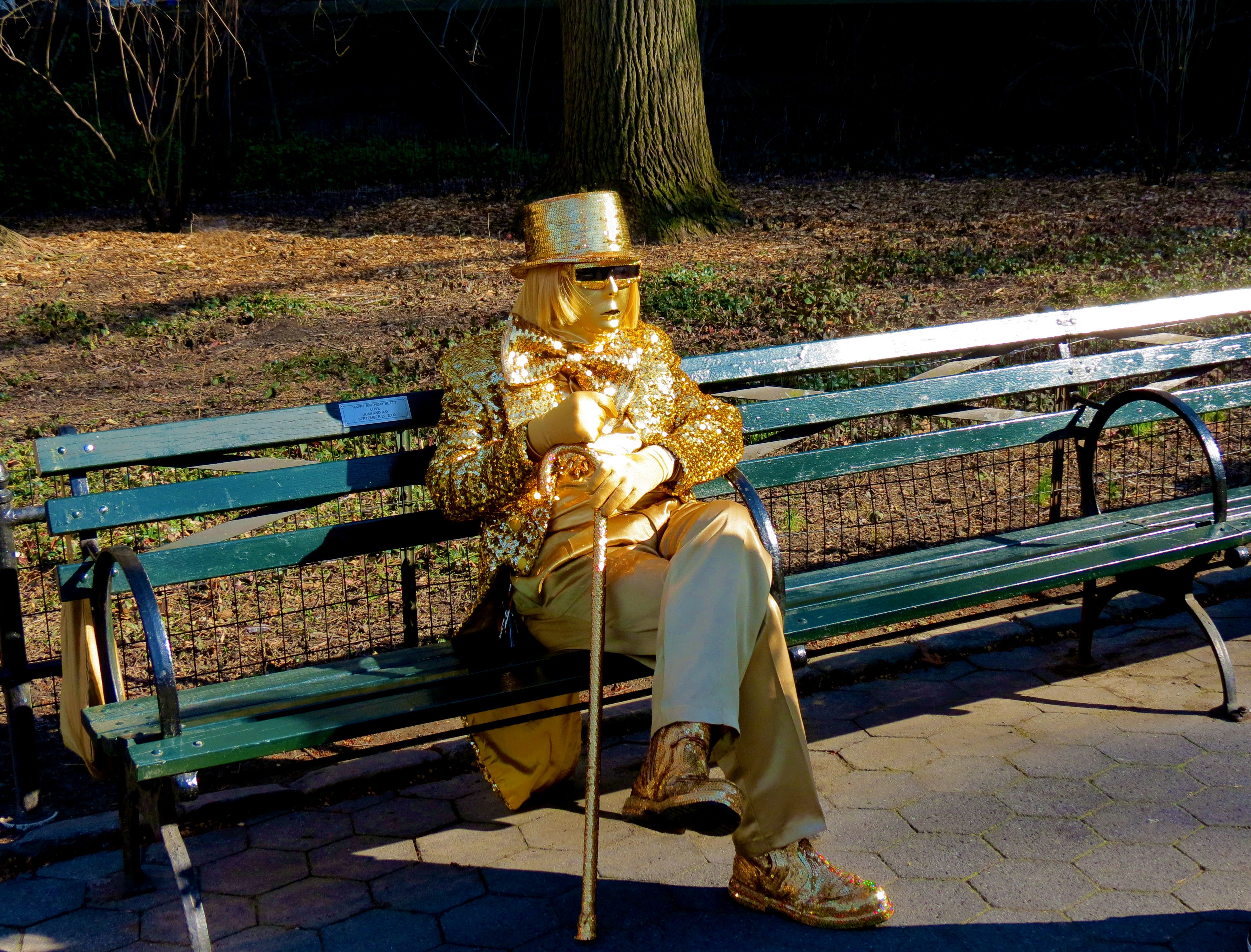 Human Statue New York City New York City Statue Living Statue