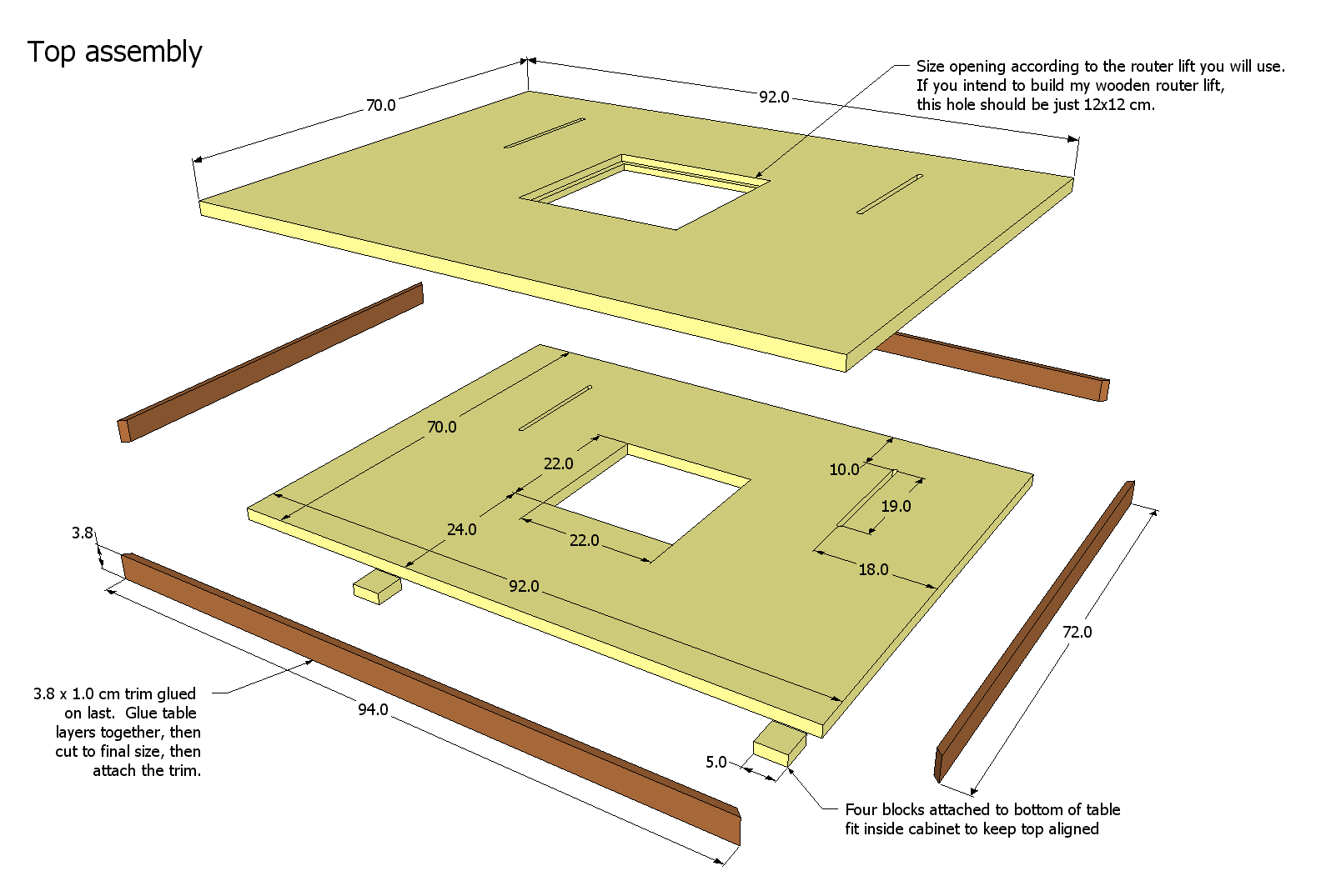 Router Table Top Plans You Have Successfully Ed Your Woodsmith Project Plan Go To Page