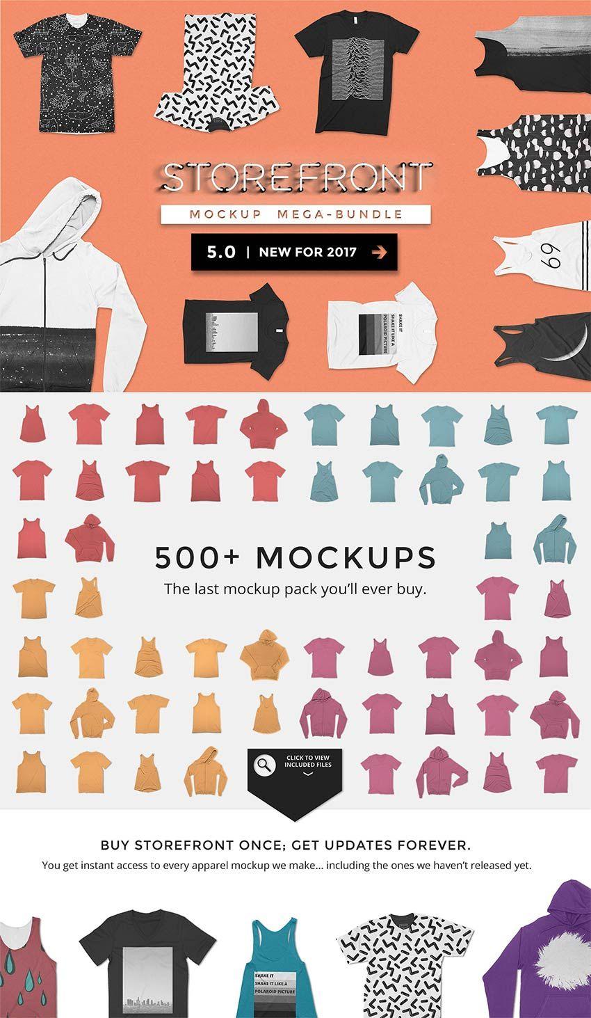 Download Storefront 1 The Original Mockups Mockup Tshirt Mockup Free Tshirt