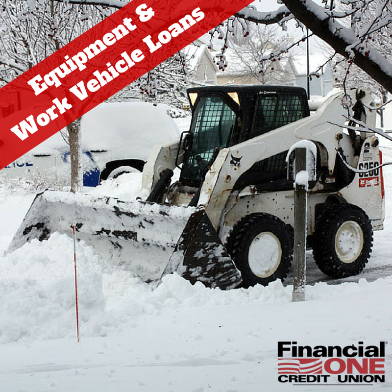 Want to stay ahead of equipment obsolescence and your competition? With an Equipment & Work #Vehicle Loan, you can ensure your #business is firing on all, fully-functional cylinders. #F1CU