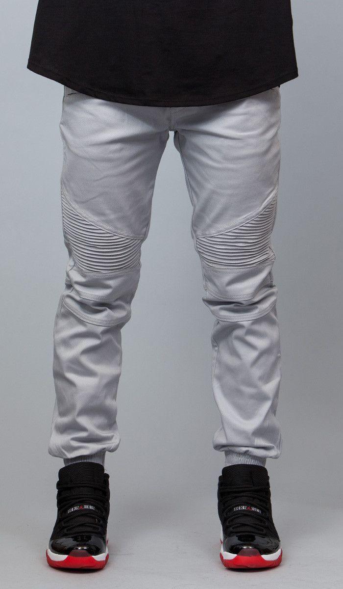 6697378177b5 Lt.Gray Biker Jogger   HYPER DENIM   My Fit   Biker jeans, Joggers ...